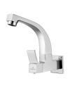 SINK COCK WITH REG. SWINGING SPOUT (W/M)