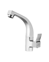SINK COCK WITH REGULAR SWINGING SPOUT(T/M)