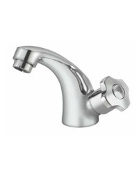 SINK COCK WITH REG. SPOUT T/M SWAN NECK