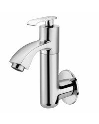 SINK COCK WITH REG.SWINGING SPOUT WITH WALL FLANGE