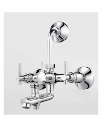 WALL MIXER 3 IN 1 SYSTEM WITH PROVISION FOR BOTH TELEPHONIC & OVERHEAD SHOWER