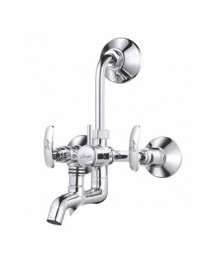 WALL MIXER 3 IN 1 WITH PROVISION FOR BOTH TELEPHONIC & OVERHEAD SHOWER