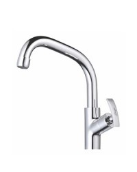 SINK MIXER WITH EXTENDED SWINGING SPOUT T/M SWAN NECK