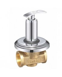 FLUSH COCK WITH WASHER  Q/T WALL FLANGE
