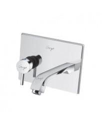 SINGLE CONCEALED STOP COCK WITH BASIN SPOUT