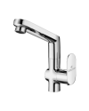 SINK COCK WITH REG. SWINGING SPOUT (T/M)