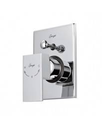 HIGH FLOW SINGLE LEVER CONCEALED DIVERTOR