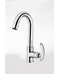 SINK COCK WITH REG SWINGING SPOUT TM SWAN NECK