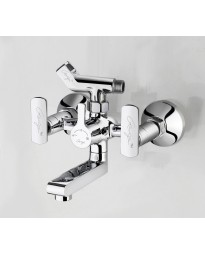 WALL MIXER WITH CRUTCH FOR ARRANGEMENT OF TELEPHONIC SHOWER