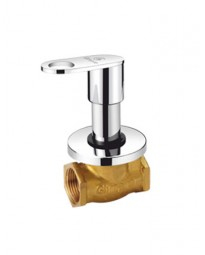 FLUSH COCK WITH WASHER SYSTEM & ADJUSTABLE WALL FLANGE (25MM) (HEAVY)