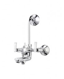 WALL MIXER  3 IN 1 SYS. WITH PROVISION FOR TEL. & O/H SHOWER
