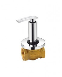 FLUSH COCK WITH WASHER SYSTEM & ADJUSTABLE WALL FLANGE (25MM) (LIGHT)